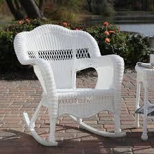 outdoor white wicker furniture nice. White Allweather Wicker Rocker Rocking ChairOutdoor Outdoor Furniture Nice E