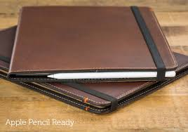apple pencil compatible ipad pro 9 7 case whiskey leather