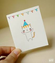 Small Card Birthday Card Drawing Birthday Cards For