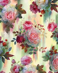 Rosewater - Watercolor Dipped Roses - Quilt Fabrics from www ... & Rosewater - Watercolor Dipped Roses - Quilt Fabrics from www.eQuilter.com Adamdwight.com