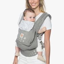 Original Baby Carrier - Soft Carrier w/ Storage - Galaxy Grey | Ergobaby