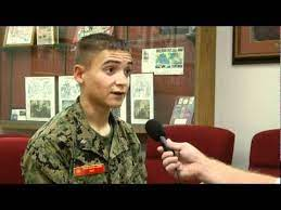 Cadet Major Ruben Hays Honored for Musical Talents - YouTube