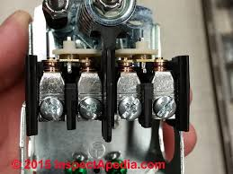well pump pressure control switch how to adjust the water top view of assembled contact points in a schneider electric square d pumptrol pressure control switch