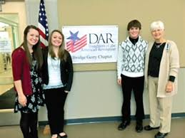 daughters of the american revolution chapter honors essay contest  good citizens participants who attended the recent daughters of the american revolution reception were from