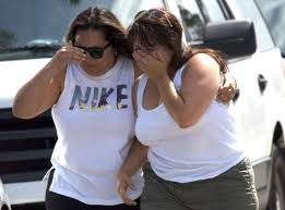 family members of two children who were victims of a deadly grieve in