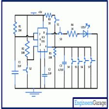 timer based code lock circuit diagram timer based code lock circuit
