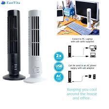 mini tower desk fan on portable vertical fan mini air condition fan desk cooling honeywell