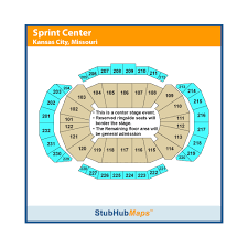 Sprint Arena Kansas City Seating Chart Sprint Center Events And Concerts In Kansas City Sprint