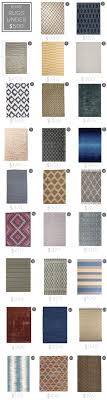 What Size Area Rug For Living Room Design Mistake 2 The Too Small Rug Emily Henderson