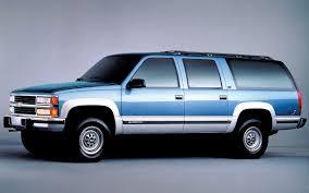 Chevrolet Suburban 1992-2000 ThunderForm Custom Amplified ...