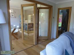oak internal bifold doors law lewis of cambridge ltd 7 jpg