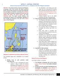 philippine consution article i