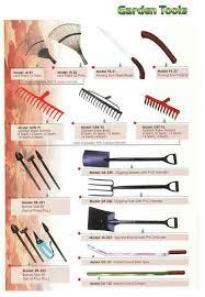 tools names. names of garden tools