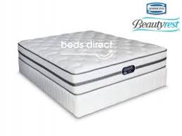simmons beautyrest classic. Simmons Beautyrest - Classic Plush Queen Size Bed Set E