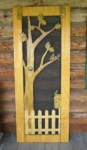 Screen door | Wooden screen door, Screen door projects, Wooden screen
