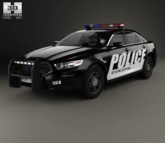 Ford Taurus Police Interceptor Sedan with HQ interior 2013 3D ...