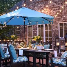 patio umbrella table amusing brown rectangle modern wooden