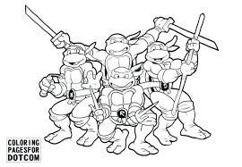 Ninja Turtles Printables Teenage Mutant Ninja Turtles Coloring Page