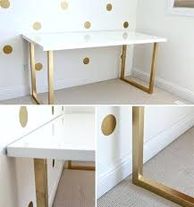 black lacquer paint for furniture. Paint Lacquer Furniture And A Gold Base Makes This White To Use The Over Black For