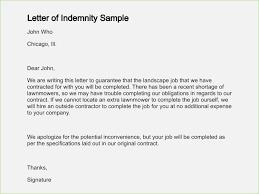 indemnity letter format 0