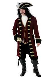 Delightful Plus Size Deluxe Captain Hook Costume