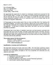 Free Landscaping Bid Proposal Template. Free Landscaping Bid ...
