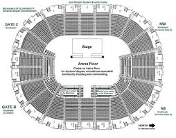 Breslin Arena Seating Chart Msu Basketball Seating Chart Related Keywords Suggestions