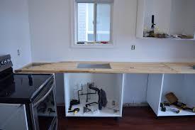 installing ikea butcher block countertops 1