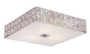 sunburst square flush mount ceiling by trans globe