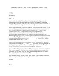 sample public relations cover letter   Template
