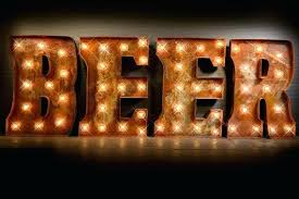 lighted letter signs. Like This Item Beer Marquee Sign Package Light Carnival Letter Lighted Metal Signs