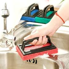 bathtub cleaning brush handle magic cleaning brush kitchen sink scourer hearth cleaner sponge bathtub wiper cleaning bathtub cleaning brush