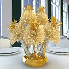 30 best golden anniversary images on 50th wedding table regarding golden wedding table decorations