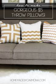Designer Decorative Pillows For Couch DIY Designer Throw Pillows As Low As 100 To Make 13