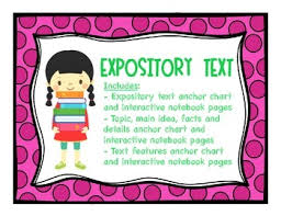 What Is Expository Text Expository Text Text Features And Main Idea Interactive Notebook Pages