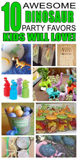 Dinosaur Party Favor Ideas