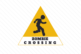 Dead, halloween, living, zombie svg vector icon. Zombie Crossing Svg Cut Files Free Svg Images Cricut Silhouette Cut Cut Craft