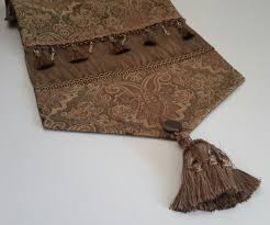 Decoration Dining Table Cloth Paper Table Runners Gold Table