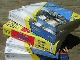 Recycling Old Phone Books In Central Illinois Global Warming