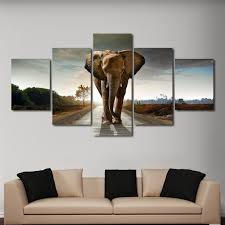 on canvas wall art cheap with elephant stock multi panel canvas wall art elephantstock