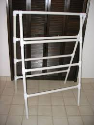 Pvc Pipe Coat Rack Make Your Own PVC Pipe Clothes Drying Rack 22