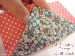 3-D Flying Geese Quilt Block - & 3-d Flying Geese Quilt Block Tutorial | patchworkposse | easy sewing  projects and free Adamdwight.com