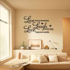 removable live laugh love wall sticker art vinyl decal mural home bedroom decor