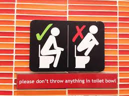 do not use toilet sign edandca online sign v4 printable safety sign maker
