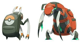 Fakemon: Bugpag (Bug) and Carchirin (Bug). | Pokemon pokedex, Pokemon alola,  Pet monsters