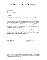 25 New Formal Letter Writing