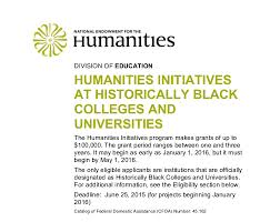 admission college of arts and sciences howard university howard university department of english receives 100 000 grant from the national endowment for the humanities hbcu humanities initiative
