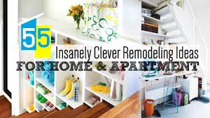 55 clever home remodeling ideas youtube
