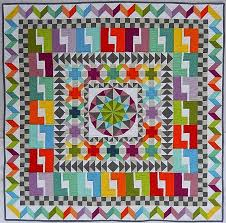 322 best Medallion quilts images on Pinterest | Jellyroll quilts ... & Quilting Mod: Blogger's Quilt Festival - Small Quilt Category Adamdwight.com