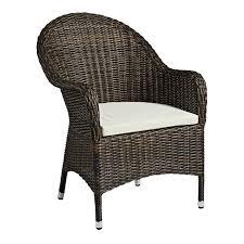clover rattan outdoor dining chair